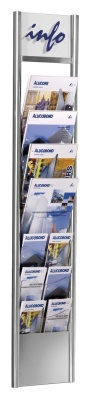 Arto Wall Mounted Brochure Diaply