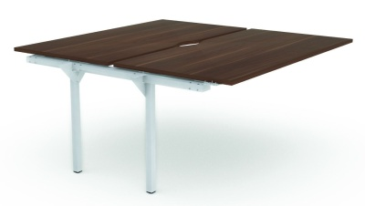 Noval Double Add On Bench Desk