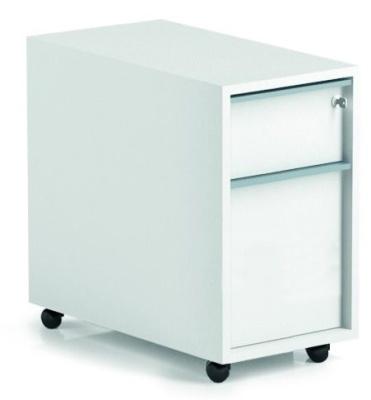 Noval Two Drawer Mobile Pedestal
