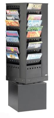 Metro Steel Revolving Literature Dispenser 2