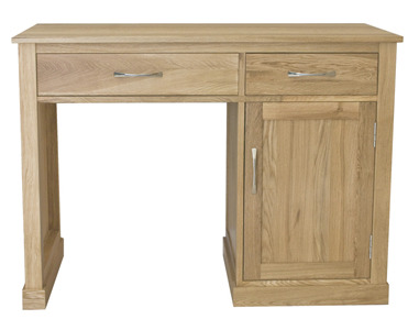 Warwick Single Pedestal Solid Oak Desk 2