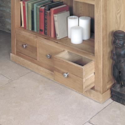 Warwick Solid Oak Bookcase 2