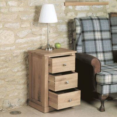 Warwick Three Drawer Lamp Table 4