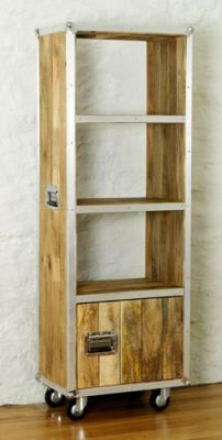 Roadie Bookcase With Doors 2