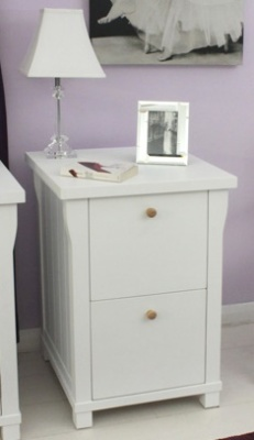 New England Two Drawer Filing Cabinet 1