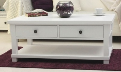 New England Four Drawer Coffee Table 2