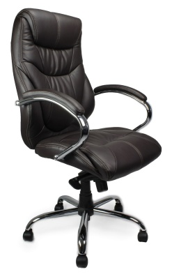 Sanhurst Black Leather Executive Chair