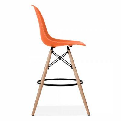 Dsw Stool Orange Seat 3