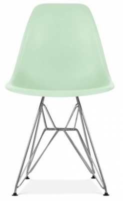 Eames Dsw Chair Peppermint Chair Front Face
