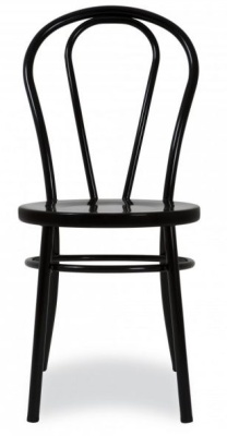 Thonet Style Metal Chair Rear View