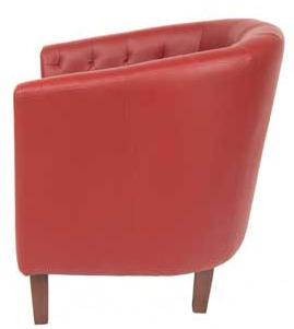 Cambridge Leather Tub Chairs 2