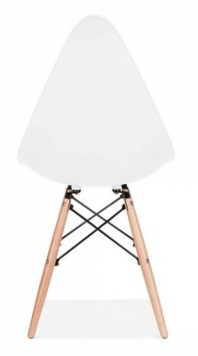 Scalena Designer Chair With A White Seat Rear View
