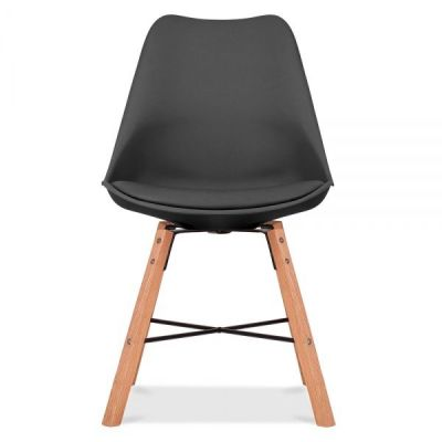 Crosstopwn Chair Wit A Black Seat Front View