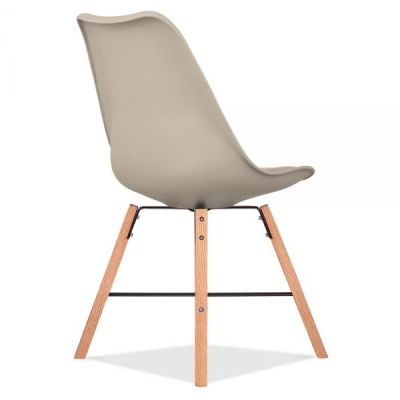 Crosstwon Chair With A Warm Beige Seat Rear Angle
