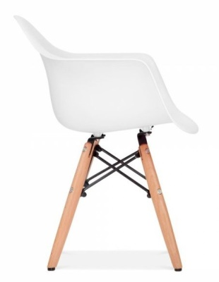 Eames Inspired DAW Chair Side View