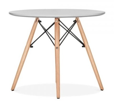 Eames Dsw Junior Table With Grey Top