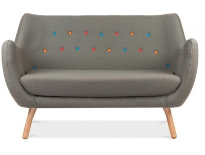 Contemporary Poet Sofa Facing