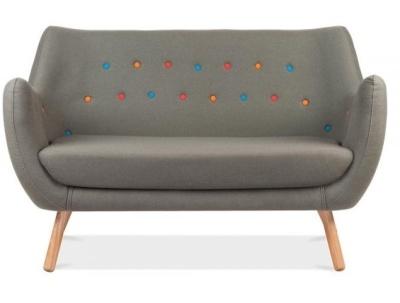 Contemporary Poet Sofa Facing