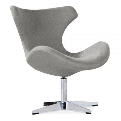 Neutron Lounge Chair In Grey