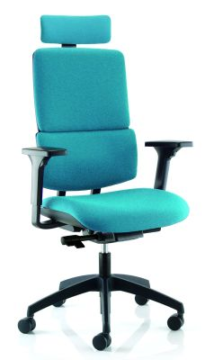 Infinity Ergonomic High Back Chair With Headrest And Height Afjustable Arms 2