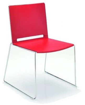 Fanstasy Poly Chair In Red