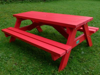 West Point Coloured Picnic Table 2