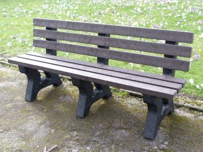 Westpoint Avon Four Seater Bench Nut Brown Colour
