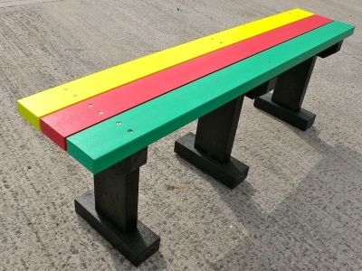 Westpoint Multicoloured T Bench