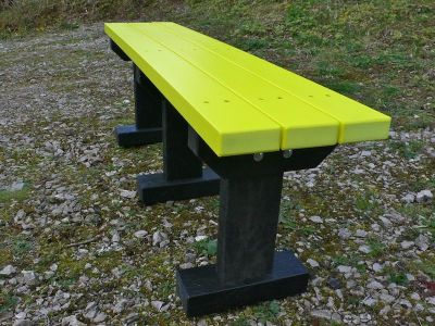Westpoint T Bench Yellow Slats