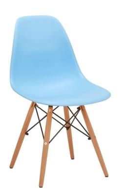 Eames Inspired DSW Chair Light Blue
