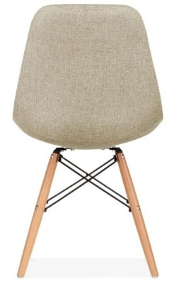 Eames Inspired Upholstered Dsw Chair Rear View