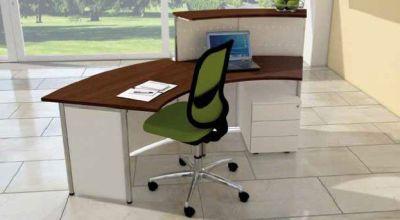 Genua Plus V5 Reception Desk Rear View
