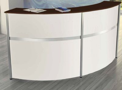 Genua Plus Curved Reception Desk