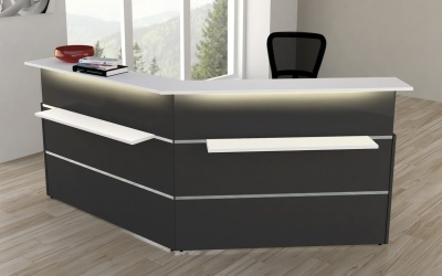 Atlanta Anthracite Reception Desk No 11