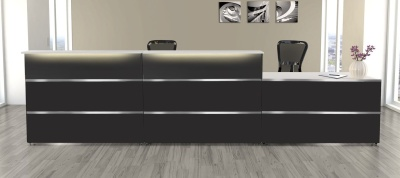 Atlanta Anthracite Reception Desk 11