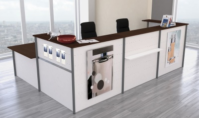 Genua Plus V10 Reception Desk