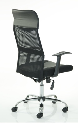 Volta High Back Mesh Chair Rear Angle