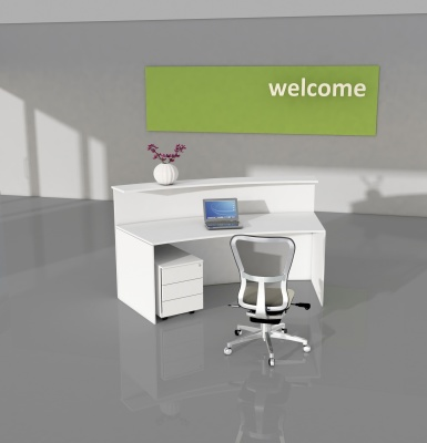 Padora Reception Desk Rear