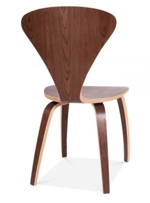 Walnut Cherner Chair Rear Shot