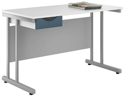 Uclic Kaleidoscope Desk Blue Drawer Front
