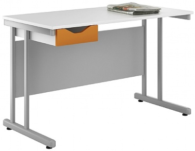 Uclic Kaleidoscope Desk Orange Frongt