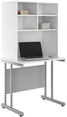 Ucclic Kaleidoscope Desk With Hutch 2