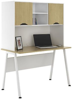 Aspire 1200mm Desk With Overhead Storage
