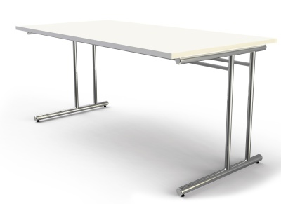 Artoline Rectangular Desk With A White Top