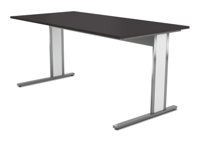 Aveto Cantilver Ddesk Anthracite Top