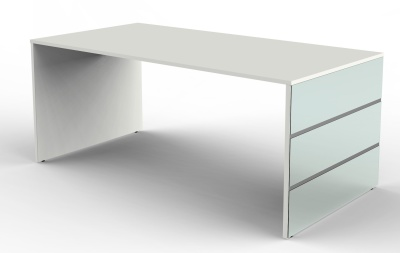 Legano Executive Desk With A White Top