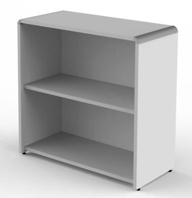 Modus Wide Bookcase In Grey