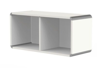 Modem Wall Unit In White