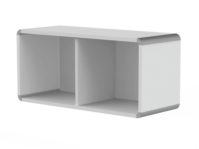 Modem Wall Unit In Light Grey
