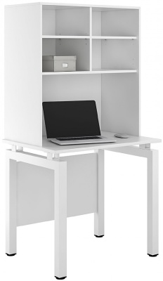 UCLIC Engage Bench Desk With Overhead Storage